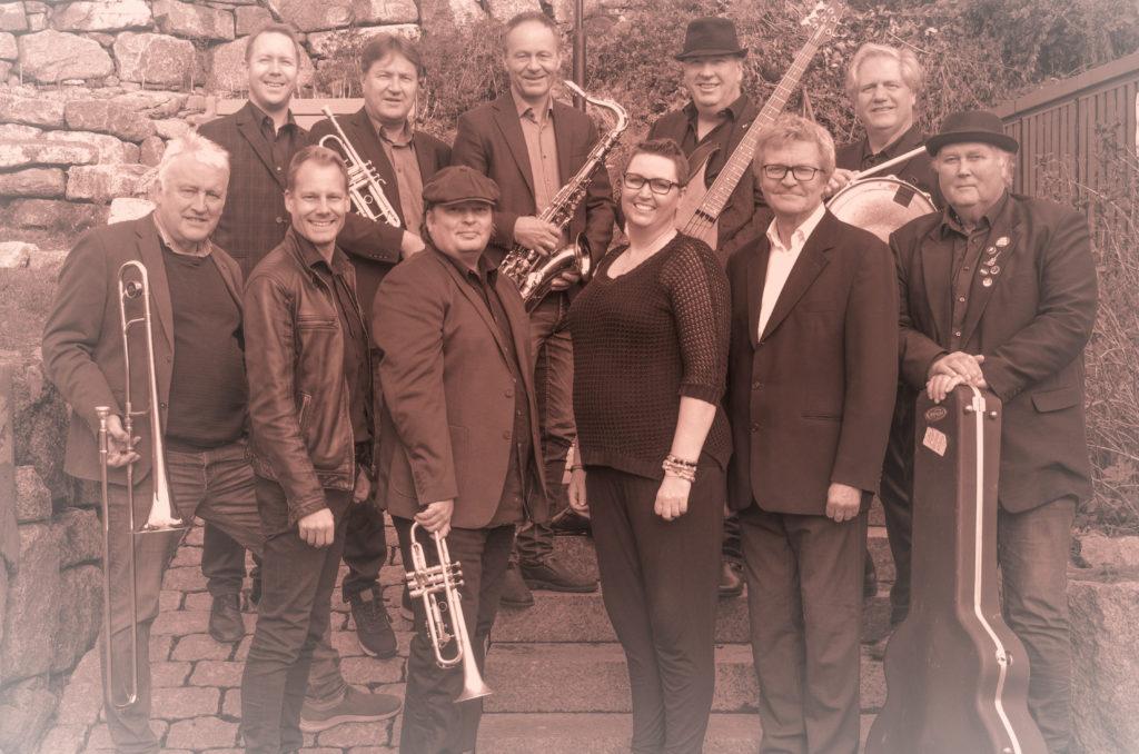 Fattigmannsbandet fullt band anno 2019